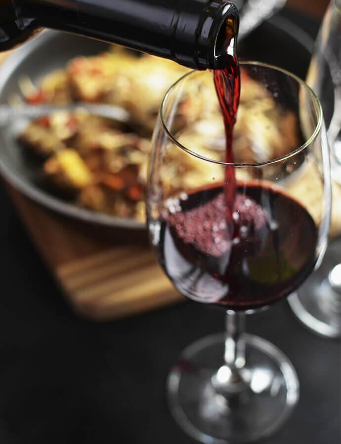 Snoubení vína s tradičními českými jídly